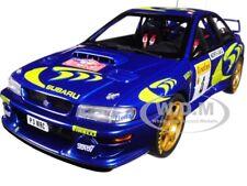 1997 SUBARU IMPREZA WRC #4 RALLY MONTE CARLO 1/18 DIECAST MODEL BY AUTOART 89791