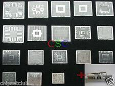 18PCs Direct Heated BGA Stencil Templates + One mini Station mcp67mv-a2