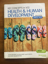 KEY CONCEPTS IN VCE HEALTH & HUMAN DEVELOPMENT, UNITS 1&2  3rd EDN , JACARANDA