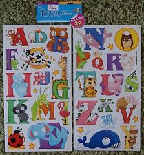 Alphabet Letter Wall Stickers Kids Girls Boys Bedroom Decals Stickarounds Baby