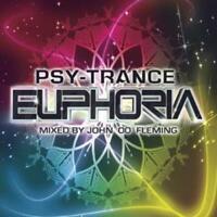 Various Artists : Psy Trance Euphoria (Mixed By John '00' Fleming) CD 3 discs