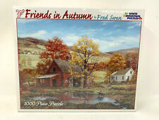 Jigsaw Puzzle Friends in Autumn by Fred Swan 1000 PIECES