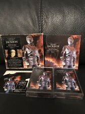 Michael Jackson, History Book 1, Cassette Tape Set With Booklet and Card Sleeve