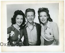 Anne Gwynne, Peggy Ryan & Donald O'Connor 1943 Top Man Original Photo J5107