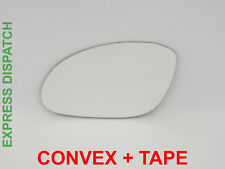 For OPEL VECTRA B 1999-2002 Wing Mirror Glass Convex +TAPE Left Side F009