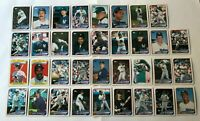 1989 NEW YORK YANKEES Topps COMPLETE Baseball Team SET 35 Cards MATTINGLY GUIDRY