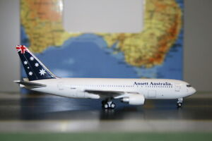 """Aeroclassics 1:400 Ansett Boeing 767-200 VH-RME """"Flag"""" Die-Cast Model Plane"""