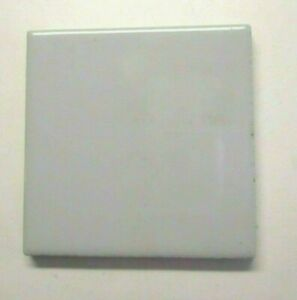 "Uni Thailand 3"" Inch Square Ceramic Light Pale Gray Glossy 1 Wall Tile Vintage"