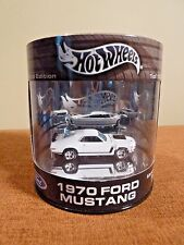 Hot Wheels Oil Can Limited Edition 1970 Ford Mustang - New 2003