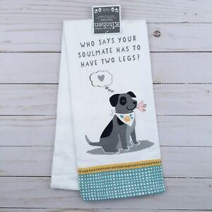 Kay Dee Kitchen Towel Dog Soulmate