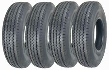4 New Zeemax Heavy Duty Trailer Tires ST205/90D15 / 7.00-15 Bias 10 PR - 11024
