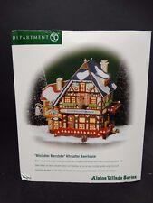Department 56 Lighted Building ~ Alpine Village ~ Altstadter Beerhouse ~ 56218