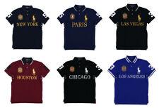 Hombres Camisa Polo Ralph Lauren ciudad Polo BIG PONT-Ajuste Personalizado