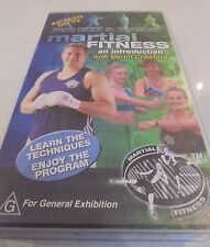 Martial Fitness Introduction based on karate movements C Crawford VHS Video Tape