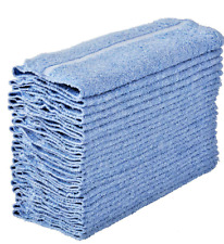 Washcloth BLUE  Towel 24Pcs  Face Cloth 12x12 Wash cloths Gym Towel LESS THAN $1