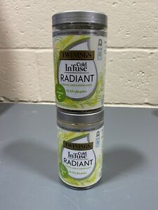 Twinings Cold Infuse for Water Bottles 2 X Lemon Line & Green Mate