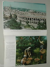 1949 magazine article Post WWII Italy, people restoration color