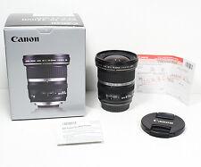 CANON EF-S 10-22mm F/3.5-4.5 USM lens for EOS 7D II T5i T6i T6s SL1 80D 70D etc