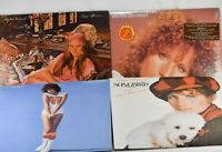 4 BARBRA STREISAND Vinyl LPs - Lazy Afternoon, Songbird, Superman, Memories - NM