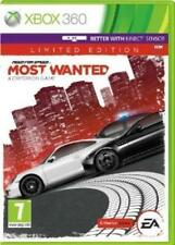 NEED FOR SPEED MOST WANTED PER XBOX 360 LIMITED EDITION NUOVO UFFICIALE ITALIANO