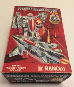 Vintage Bandai Robo Machine SPY-EYE transformer plane 1980s Boxed