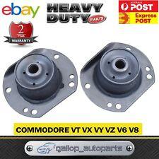 Pair Commodore Castor Rod Bush Kit VT VX VY VZ V6 V8 Front Rubber Caster 97-06