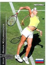 2003 NETPRO ANNA KOURNIKOVA RC INTERNATIONAL #10 ROOKIE