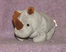 Ty Beanie Babies Spike the rhinoceros Retired