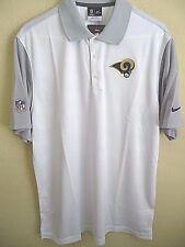 NFL Nike Dri-fit Los Angeles Rams Football Polo Shirt L 656706 1c6f925a3
