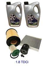 FORD FOCUS C MAX 1.8 TDCi Service Kit inc 10 litres Oil 5w30