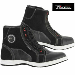 Diora Vista Waterproof Leather Casual Boot Motorcycle Black Size 12 euro 46