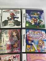 Lot Of 10 NINTENDO 3DS & DS Empty Cases Only, Some With Manuals