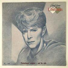 Bowie: Lifetimes - Rare Numbered (026) '83 RCA Promo Sampler (LIFETIMES1) - EX