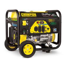 Champion Power Equipment 100592 6250W Gasoline/Propane Portable Generator - Black/Yellow
