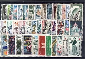 TIMBRES  ANNEE  COMPLETE  FRANCE NEUF  LUXE  1963 +++