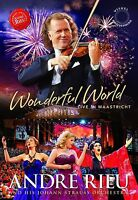 ANDRE RIEU - WONDERFUL WORLD-LIVE IN MAASTRICHT  DVD NEW+