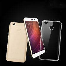 For Xiaomi Redmi 4X Ultra-thin Shoclproof Clear Transparent Soft TPU Case Cover