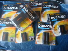 joblot of camera and camcorder rechargeable duracell batteries new