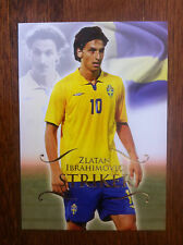 2011 Unique Futera Soccer Card - Sweden ZLATAN IBRAHIMOVIC Mint