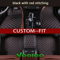 6 Colors Car Floor Mats for Benz C Class W203 Sedan 2000-2007 Anti-slip Car Mats