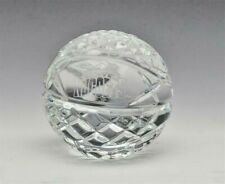 Denver Nuggets clear Crystal Basketball collectible by Waterford