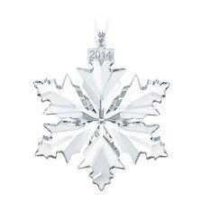 Swarovski 2014 Annual Large Star Snowflake Ornament Original Box 5059026 NEW