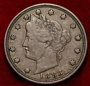 1883 With Cents Philadelphia Mint Liberty Nickel