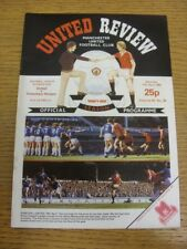 17/04/1982 Manchester United v Tottenham Hotspur  . Thanks for viewing this item