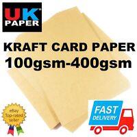 BROWN MATT PRINTER KRAFT PAPER CARDS 4 ENVELOPES CRAFT BOX GIFT PLACE TAGS A4 A5