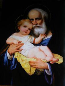 Saint Joseph Catholic Icon Katholische Saint Joseph Ikone di San Giuseppe