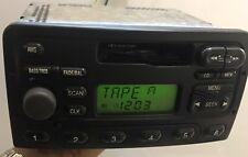 Ford Focus 2000-2002 Radio AM FM Cassette XS4F-18C838-AB OEM STEREO