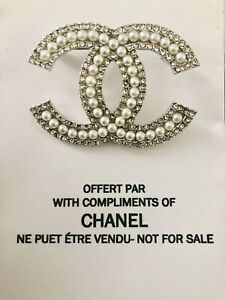 Chanel VIP Gift Brooch Pin