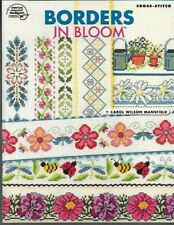 Borders in Bloom in Counted Cross Stitch ASN 3748 22 Different Designs