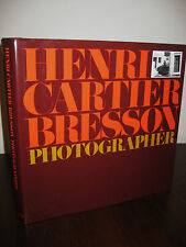 PHOTOGRAPHER Henri Cartier Bresson FIRST Revised Edition PHOTOGRAPHY 4th Print